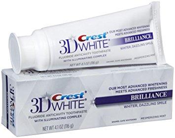 Crest 3D White Brilliance tandkräm - tandblekning tandkräm