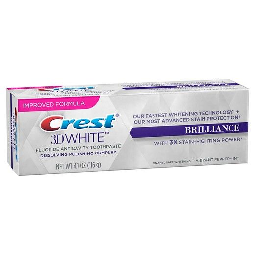 crest brilliance white toothpaste