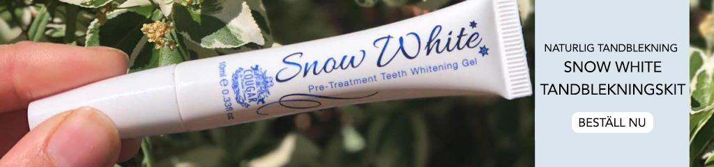 Naturliga tandblekningspennor och tandblekningssatser