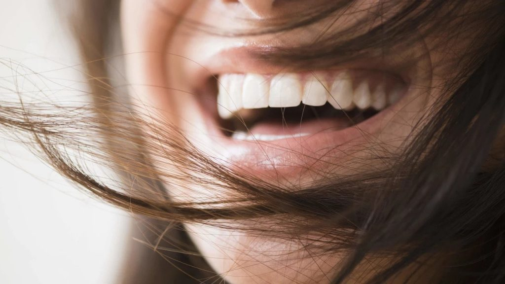 Naturlig tandblekning