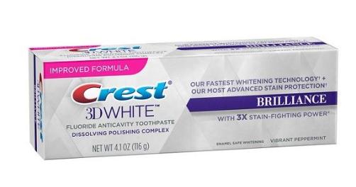 Crest 3D whitening tandkräm